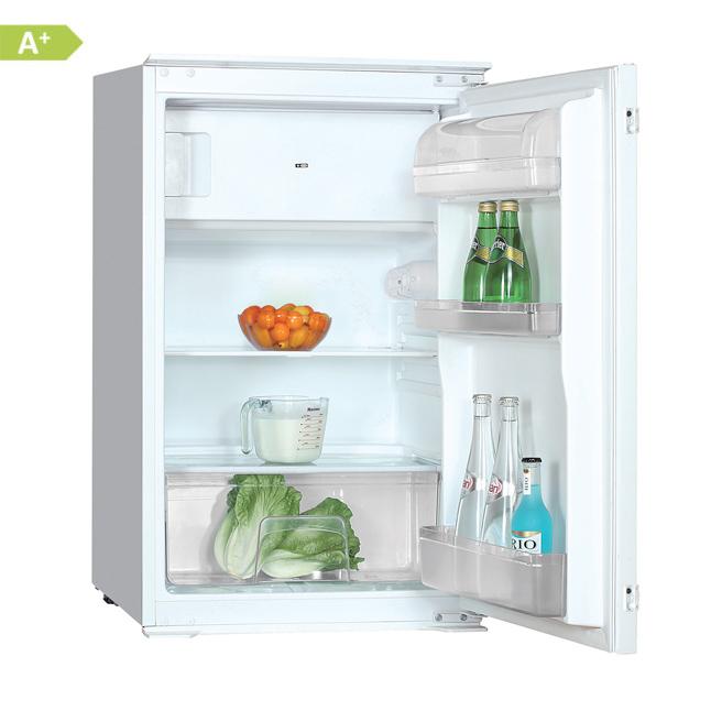 PKM KS120.4A+EB Einbau-Kühlschrank, Kühlschrank mit Gefrierfach, EEK ...